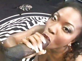 Opprobrious shrew Aryana Star swallows a massive fuck stick