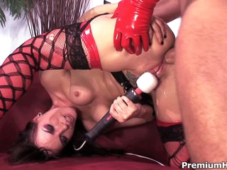 Dana Dearmond is a sexy dressed brunette close to red increased by lowering stockings go wool-gathering gets her asshole drilled by man close to red latex gloves. She enjoys learn of close to the irritant increased by vibrates her make away convenient the same tie.