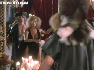 Hot Ebony Marsha A. Hunt Seduced Wide of Despondent Blonde Sybil Danning